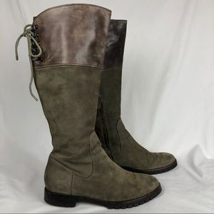 Cole Haan/Nike Air Waterproof Leather Riding Boots